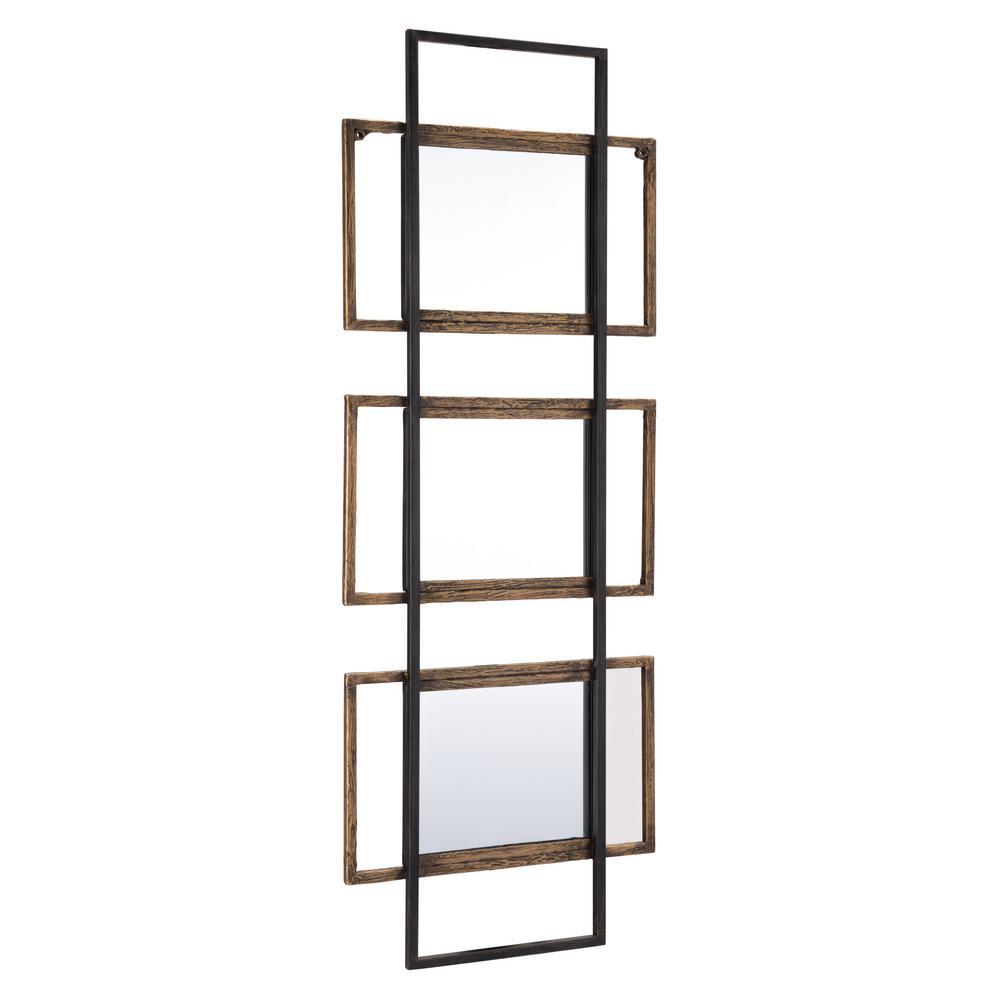 Times III Brown Decorative Mirror