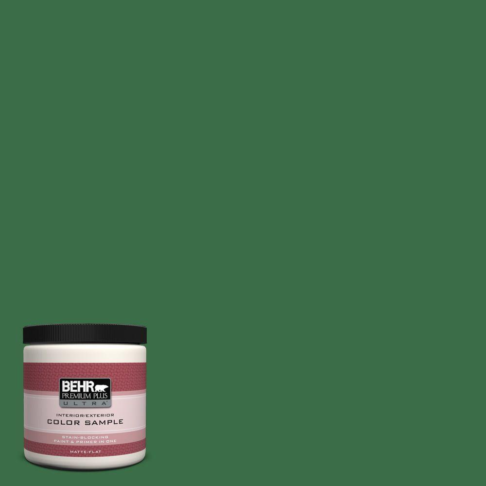 BEHR Premium Plus Ultra 8 oz. #S-H-450 Parsley Sprig Interior/Exterior Paint Sample