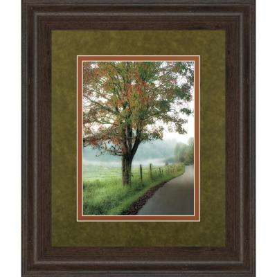 """34 in. x 40 in. """"Almost Autumn"""" by D. Burt and Mossy Oak Native Living Framed Printed Wall Art"""