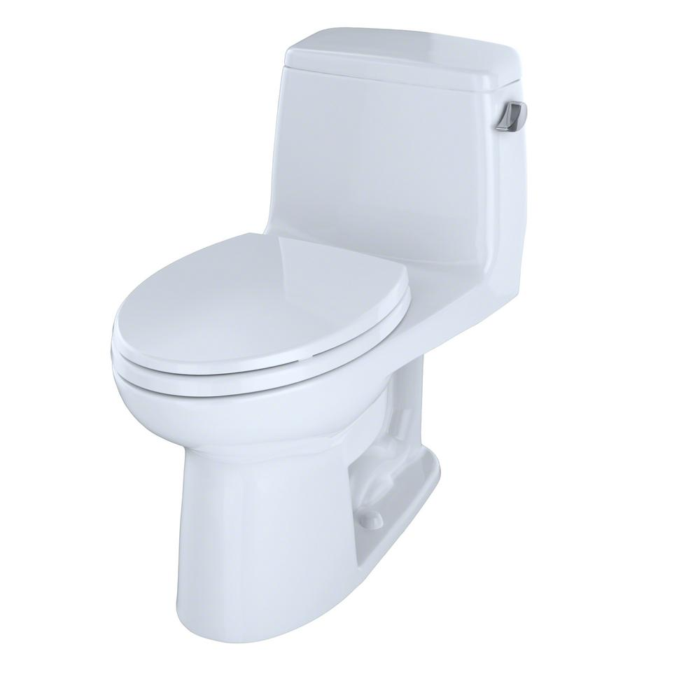TOTO UltraMax ADA Compliant 1 Piece 16 GPF Single Flush Elongated Toilet With Right Hand