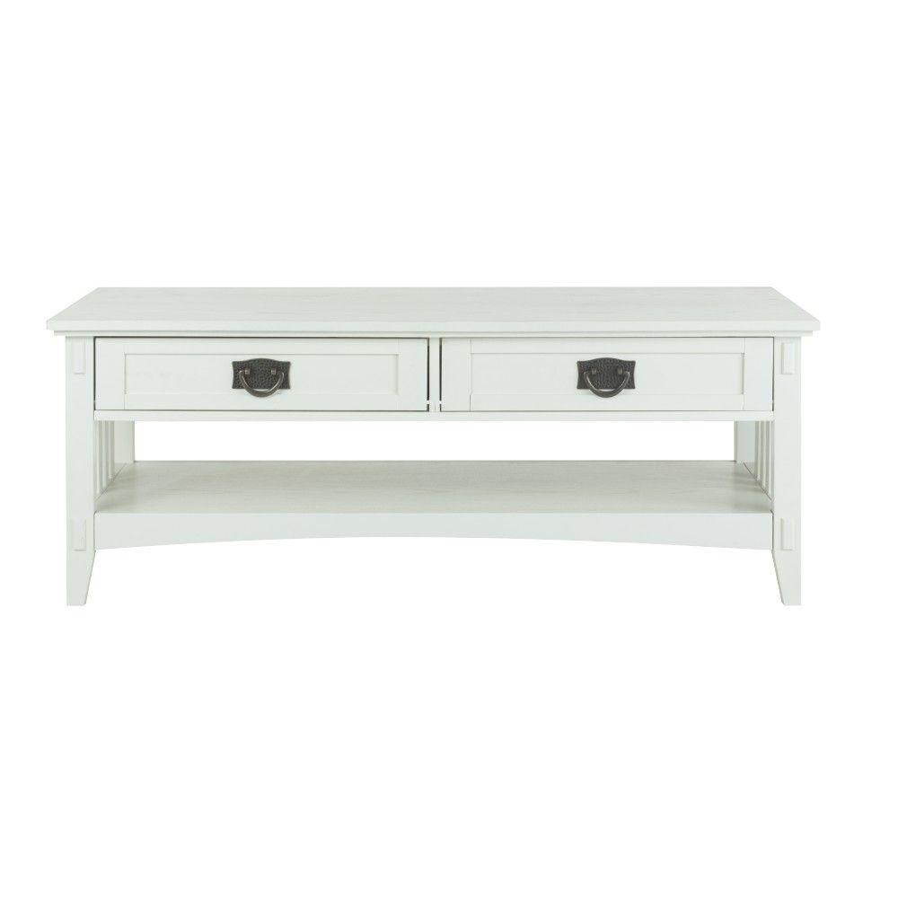 Artisan White Coffee Table