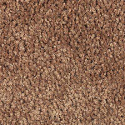 Carpet Sample - Bel Ridge - Color Copper Canyon Texture 8 in. x 8 in.