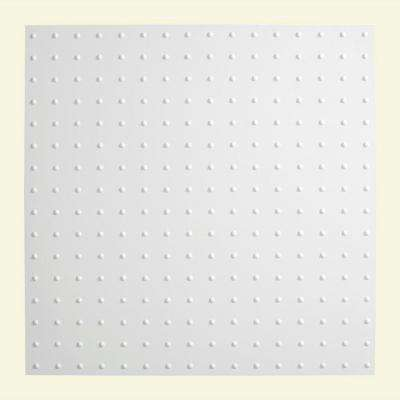 Minidome - 2 ft. x 2 ft. Lay-in Ceiling Tile in Gloss White
