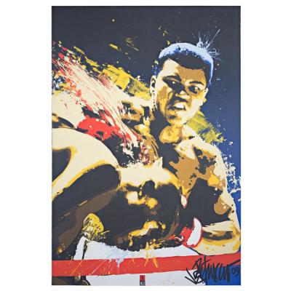 Licensed Muhammad Ali Pop Art Wrapped Canvas Wall Art