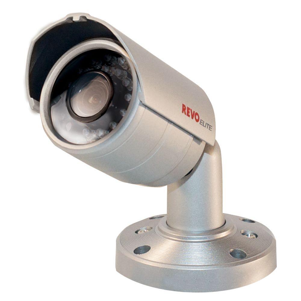 Revo Elite Commerical 600 TVL Indoor/Outdoor CCD Bullet Shaped Surveillance Camera