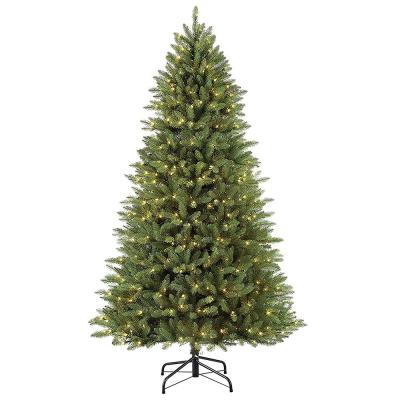 7½ ft. Pre-Lit Fraser Fir Artificial Christmas Tree with 600 UL-Listed Clear Lights