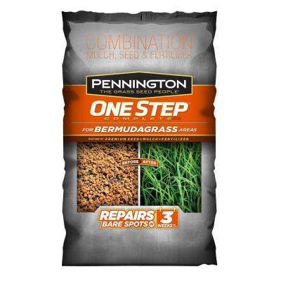 8.3 lb. One Step Complete for Bermudagrass Areas with Mulch, Grass Seed, Fertilizer Mix