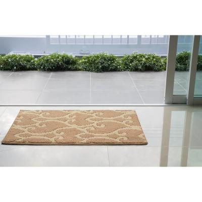 Donnie Linen/Berber 2 ft. x 3 ft. Loop Area Rug