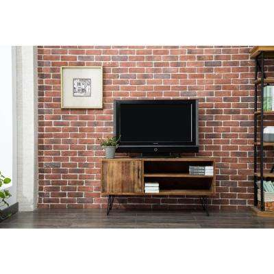 Devonshire Natural Wood Media TV Stand