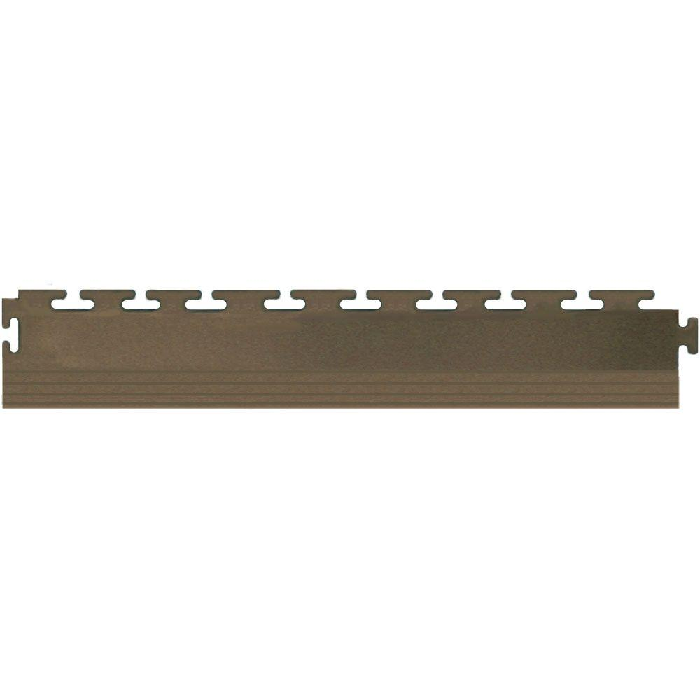 IT-tile 1/4 in. x 20-1/2 in. PVC Interlocking Flooring Edge Pieces (4-Pack)