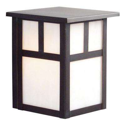 Negron 1-Light Outdoor Black Wall Sconce