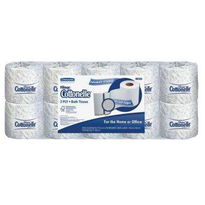 4.50 in. x 4 in. x 4.60 in. Bathroom Tissue 2-Ply (505 Sheets per Roll)