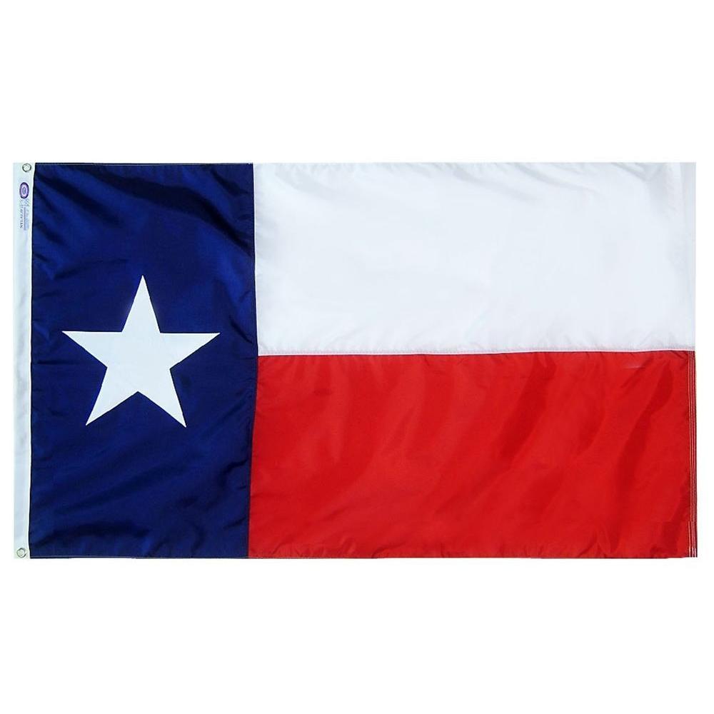 4 ft. x 6 ft. Tough-Tex Texas State Flag