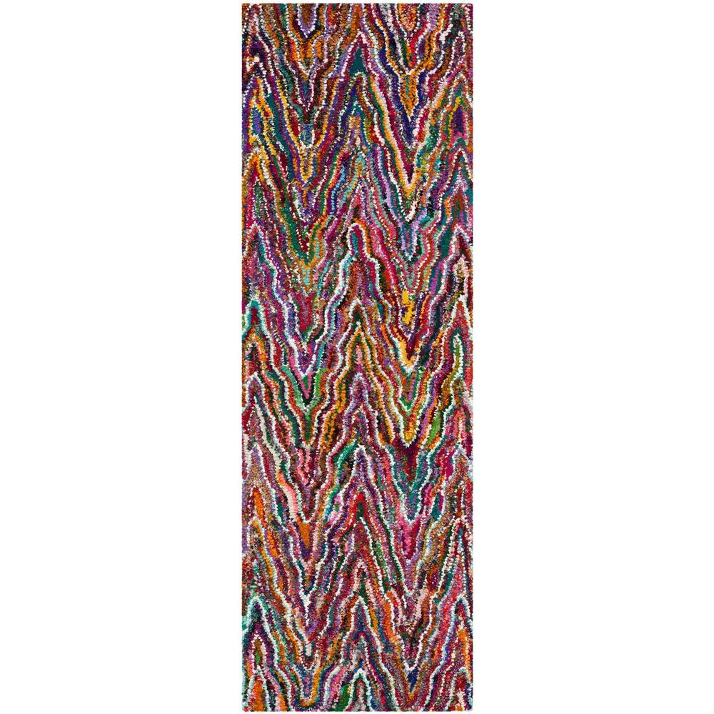 Safavieh Nantucket Multi 2 ft. 3 in. x 8 ft. Rug Runner