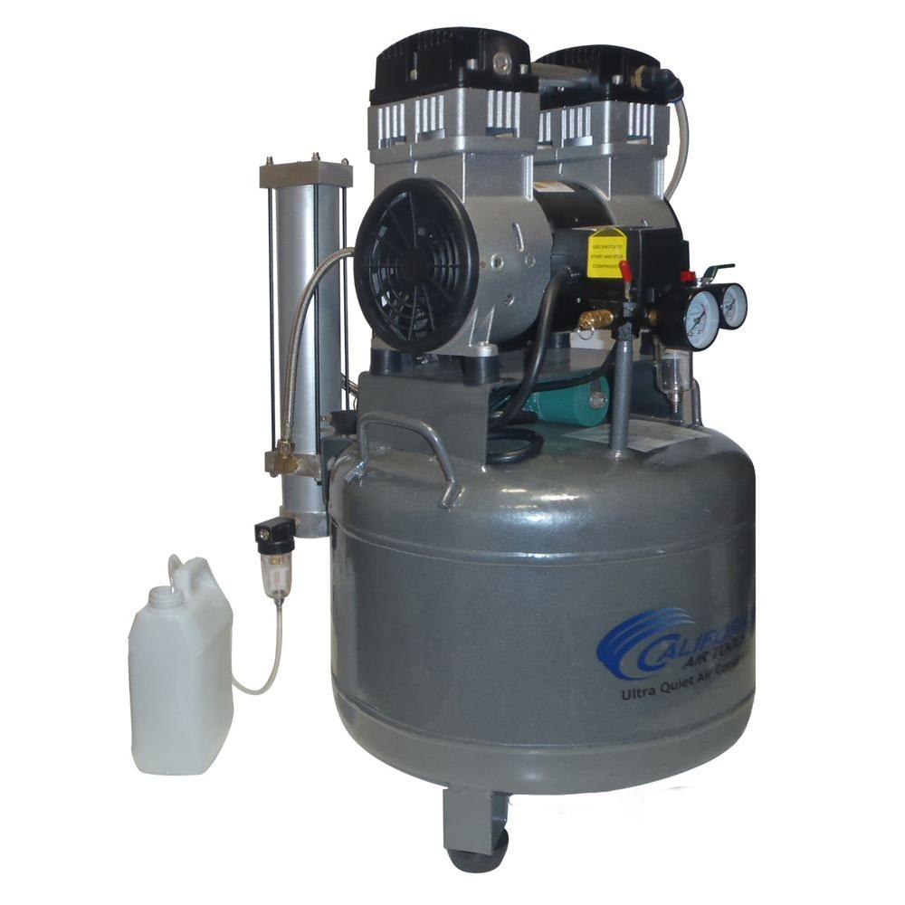 California Air Tools 10 Gal. 2 HP Ultra Quiet and Oil-Free Air Compressor with Air Dryer