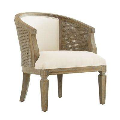 Kingston Gray Wash Upholstered Side Chair