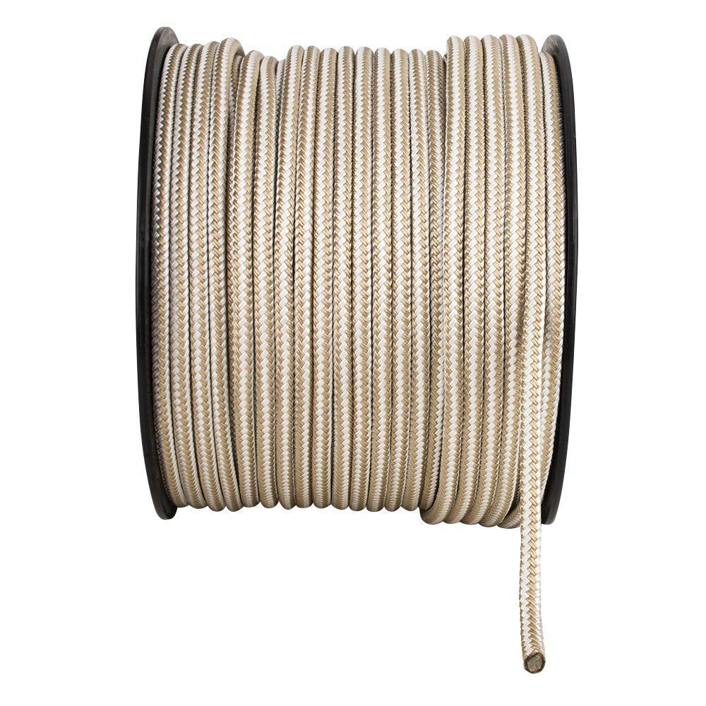 3/8 in. x 1 ft. Double Braid Nylon Rope