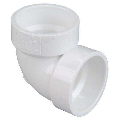 3 in. PVC DWV 90-Degree H x H Vent Elbow