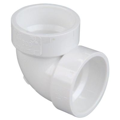 3 in. PVC DWV 90-Degree Hub x Hub Vent Elbow