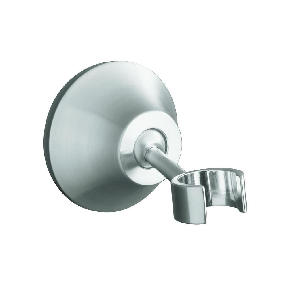 Forte Adjustable Wall-Mount Bracket in Brushed Chrome