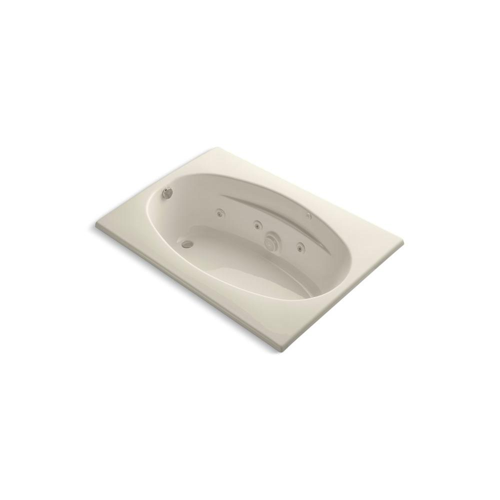 KOHLER Proflex 5 ft. Whirlpool in Almond-DISCONTINUED