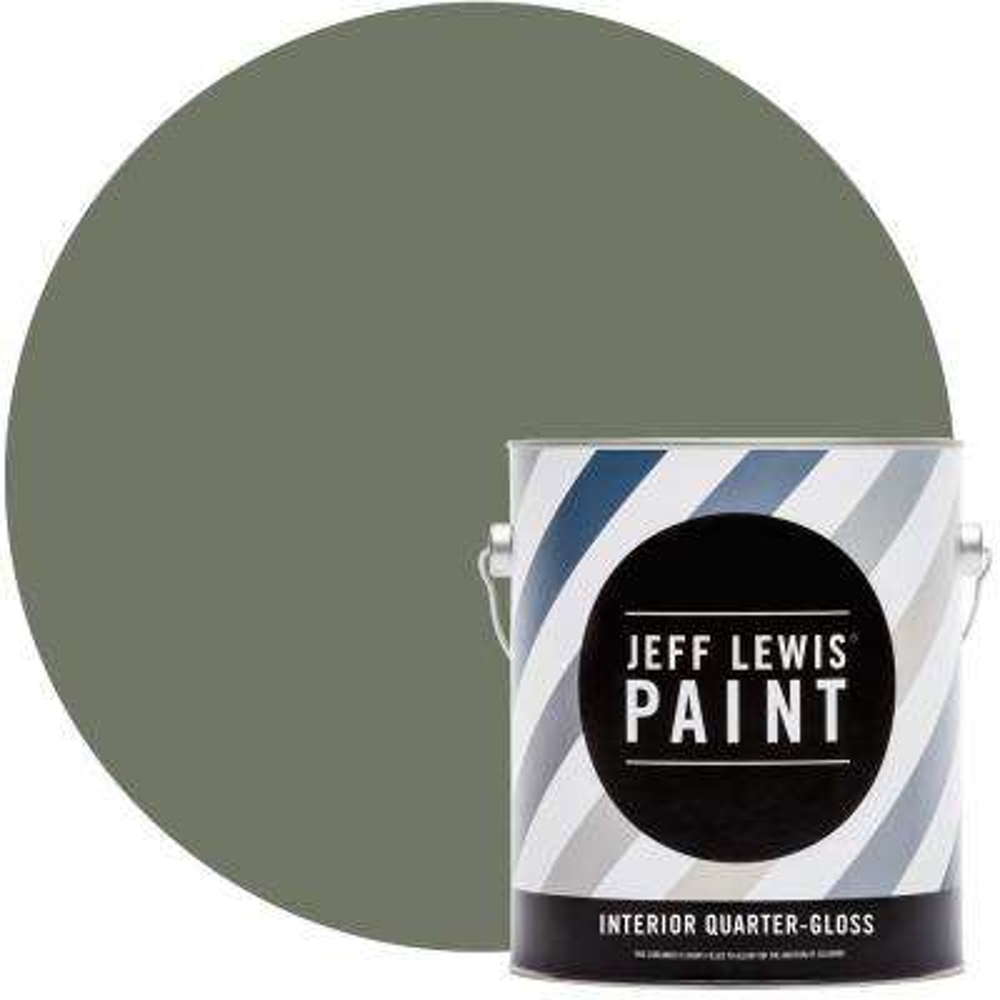 1 gal. #512 Edamame Quarter-Gloss Interior Paint