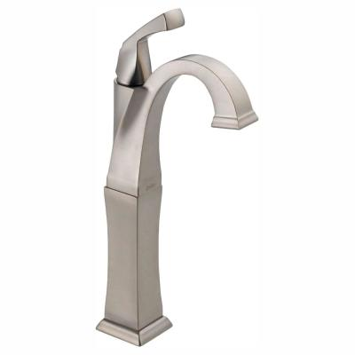 Dryden Single Hole Single-Handle Vessel Bathroom Faucet in Stainless