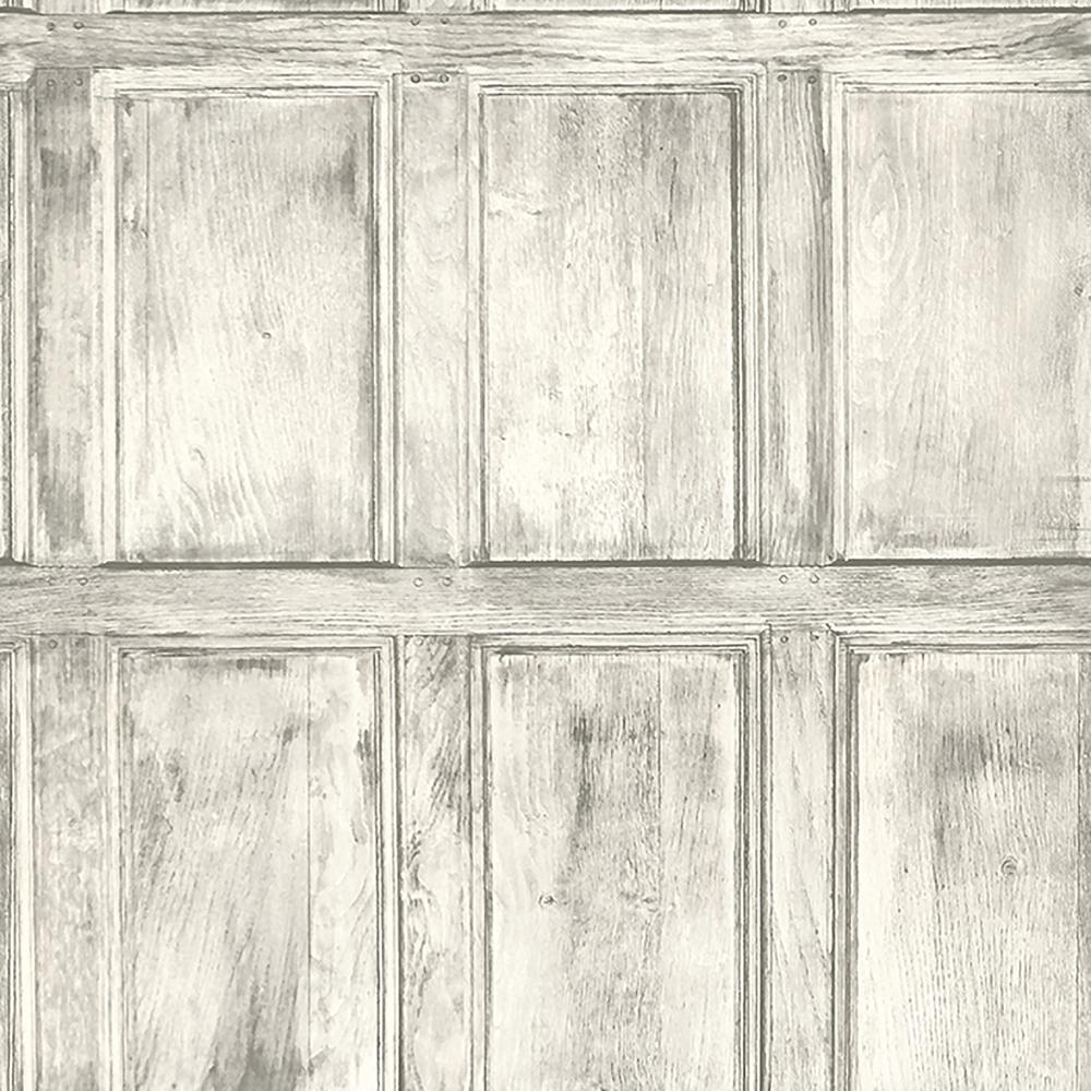 Brewster common room white wainscoting wallpaper sample for Brewster wallcovering wood panels mural 8 700