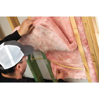 R-19 EcoTouch PINK Unfaced Fiberglass Insulation Batt 19-1/4 in. x 48 in. (10-Bags)