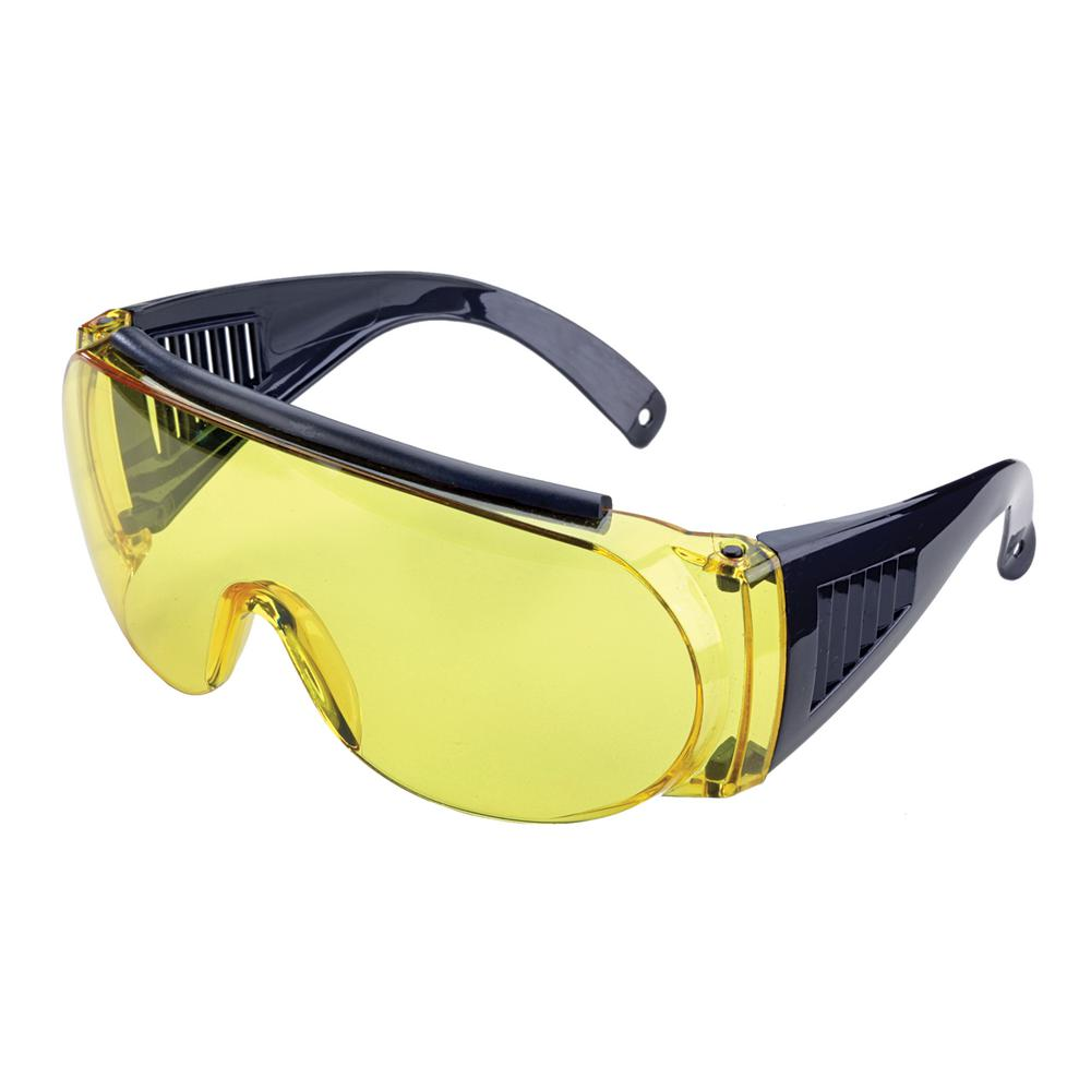 09edc05a766 Allen Over Shooting and Safety Glasses in Yellow-2170 - The Home Depot