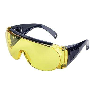 Over Shooting and Safety Glasses in Yellow
