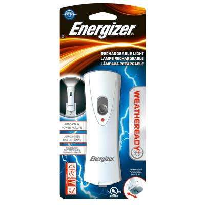 Weather Ready Rechargeable Emergency Flashlight