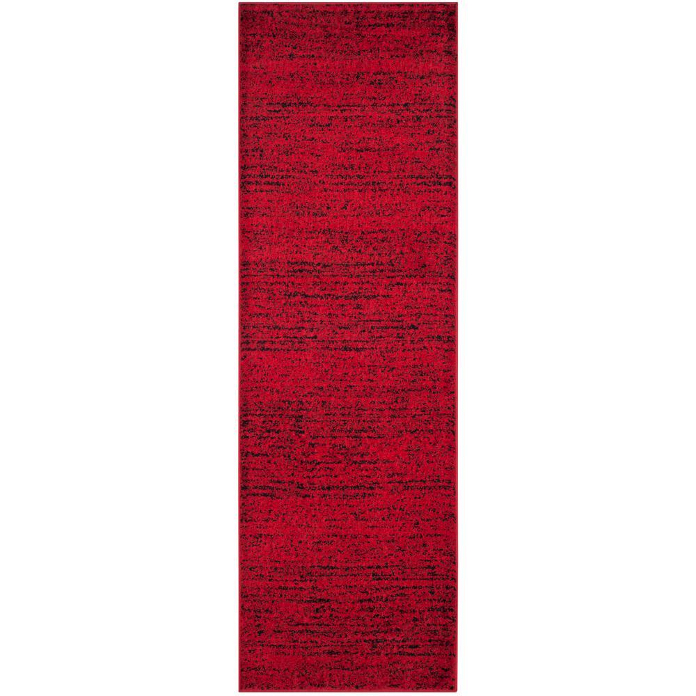 Adirondack Red/Black 3 ft. x 18 ft. Runner