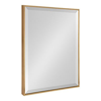 Rhodes Rectangle Gold Wall Mirror