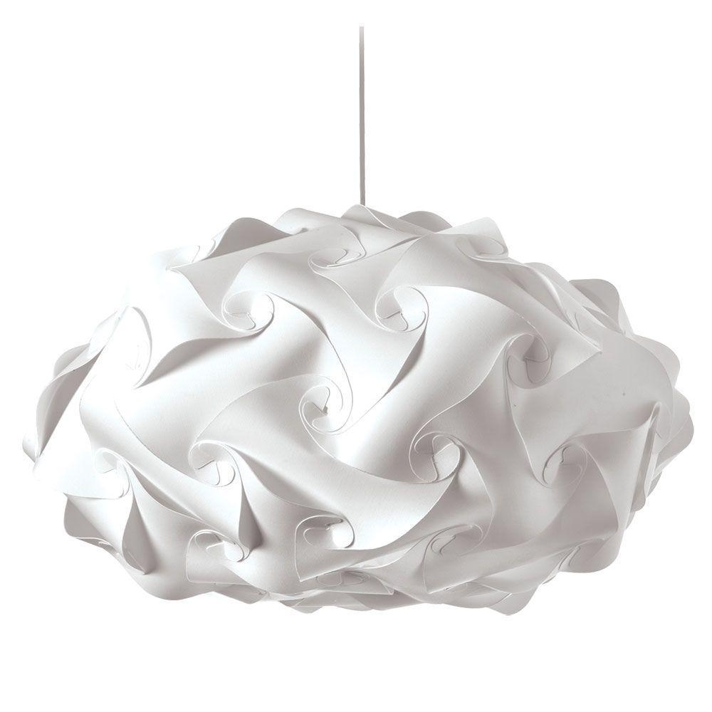 crumple white pendant lamp lighting. Catherine 3-Light White Pendant Crumple Lamp Lighting L