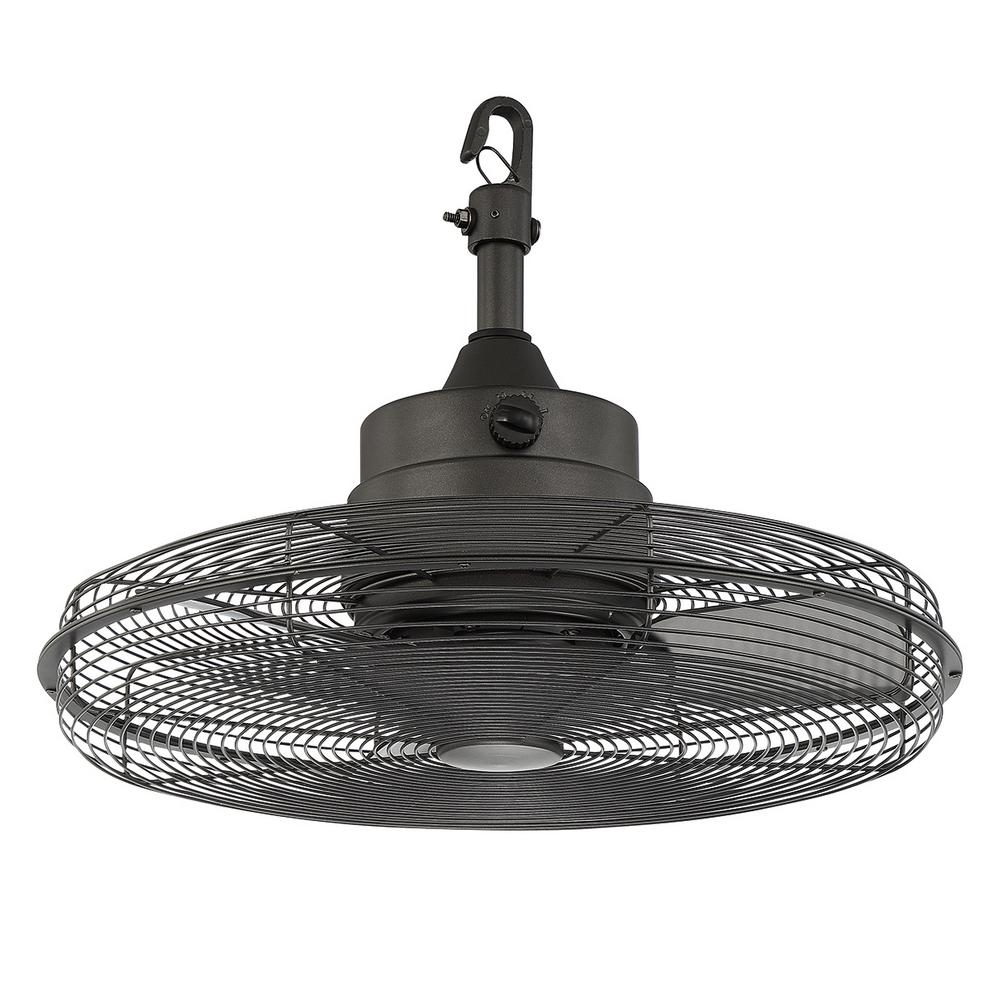 brand new 159cc 890ed Home Decorators Collection Calthorpe 20 in. Portable Natural Iron Ceiling  Fan