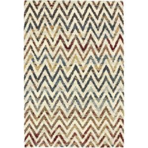 Dynamic Rugs Mehari Chevron Multi 2 ft. x 3 ft. 11 inch Indoor Accent Rug by Dynamic Rugs