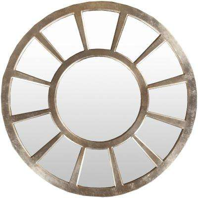 Ivane 47 in. x 47 in. Contemporary Framed Mirror