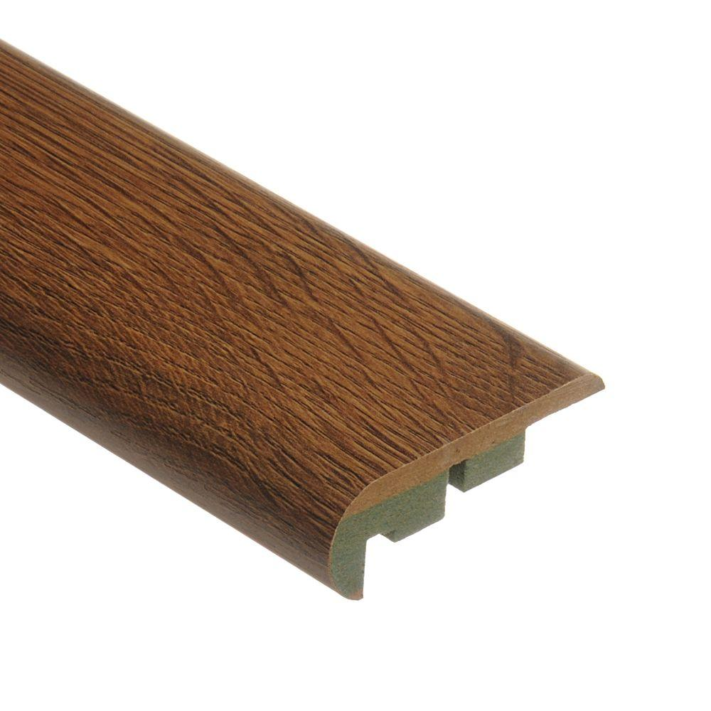 Zamma Silver Hill Oak 3/4 in. Height x 2-1/8 in. Wide x 94 in. Length Laminate Stair Nose Molding-DISCONTINUED