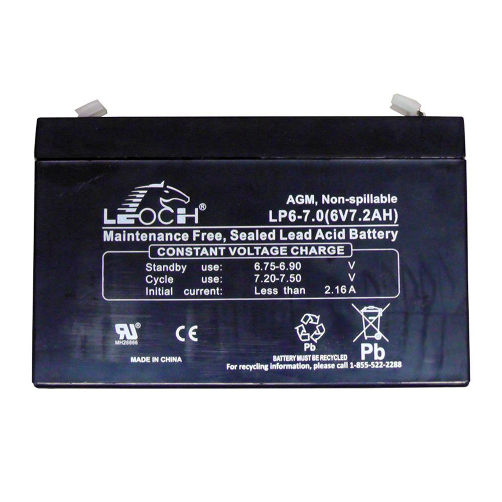 6 Volt Solar Battery Asb10 The Home Depot