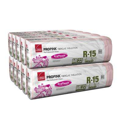 R-15 Insulation Unfaced Batts 15 in. x 93 in. (10 Bags)