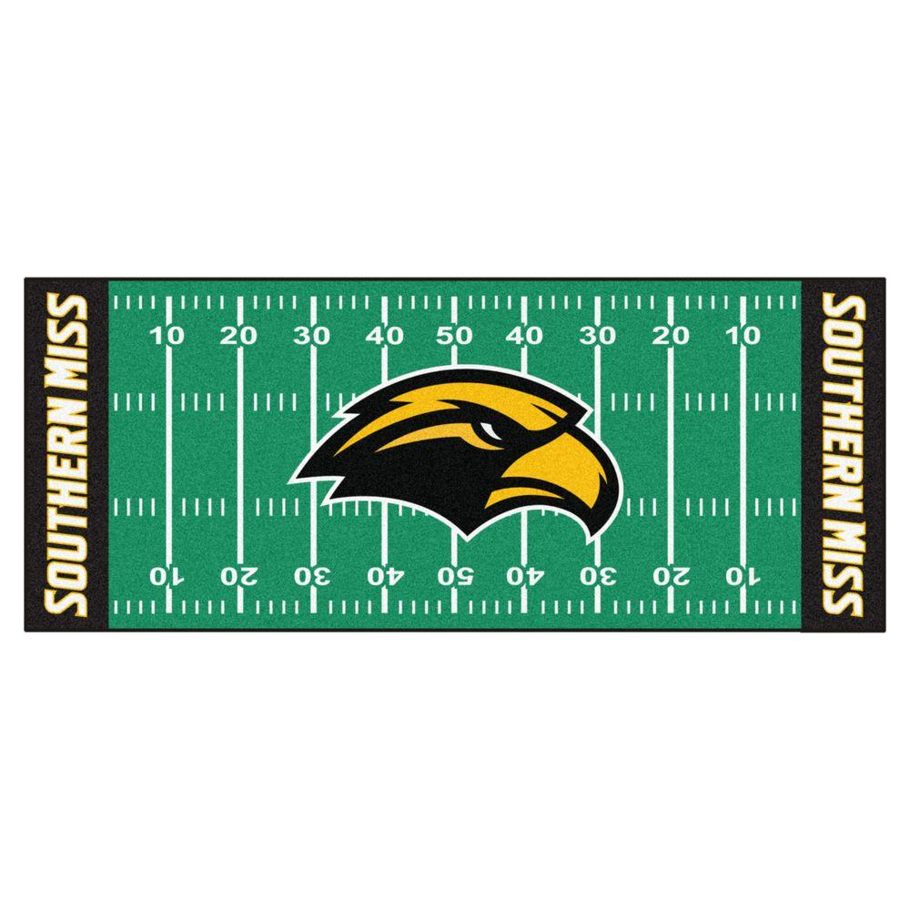Ncaa University Of Southern Mississippi Green 3 Ft X 6