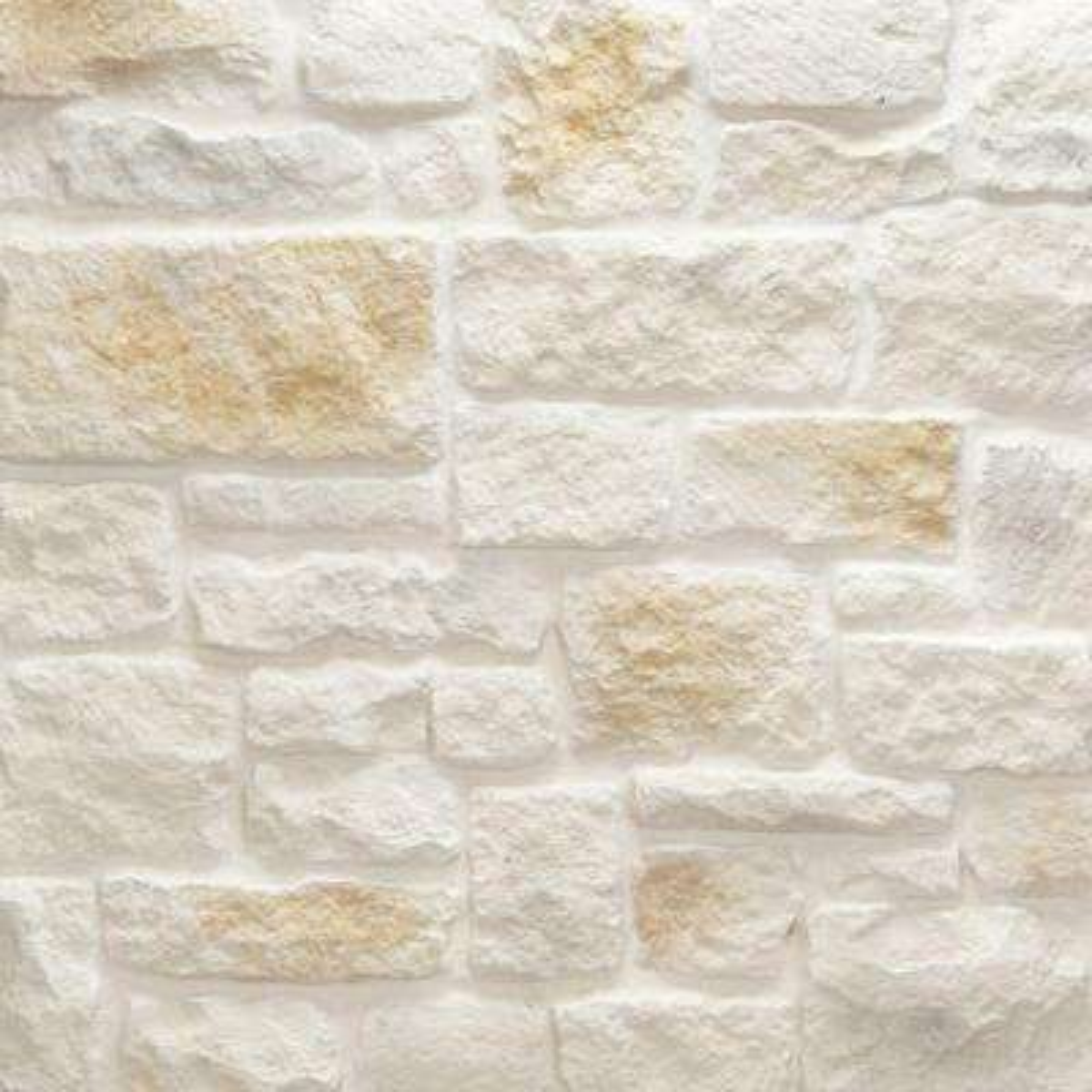Austin Stone Bisque Flats 150 sq. ft. Bulk Pallet Manufactured Stone