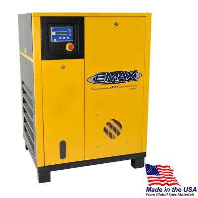Premium Series 7.5 HP 230-Volt 3-Phase Stationary Electric Rotary Screw Air Compressor