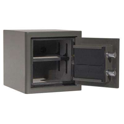 Sanctuary Platinum Series 14.25 in. Tall Fire/Water Proof Safe with Electronic Lock in Graphite Gloss