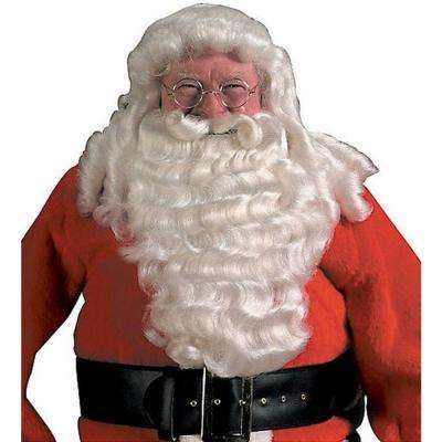 Pro Santa Full Wig and Beard Deluxe Set