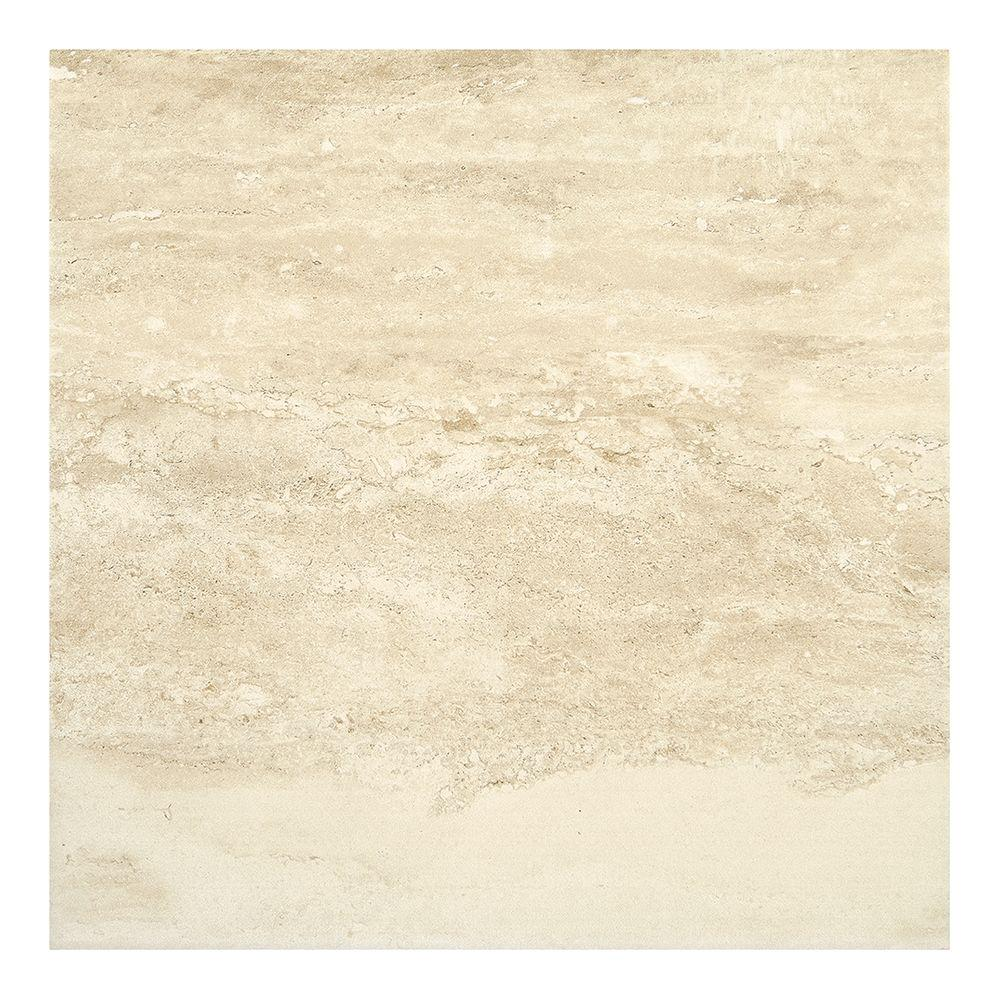 Bartello Fawn 18 in. x 18 in. Glazed Porcelain Floor and
