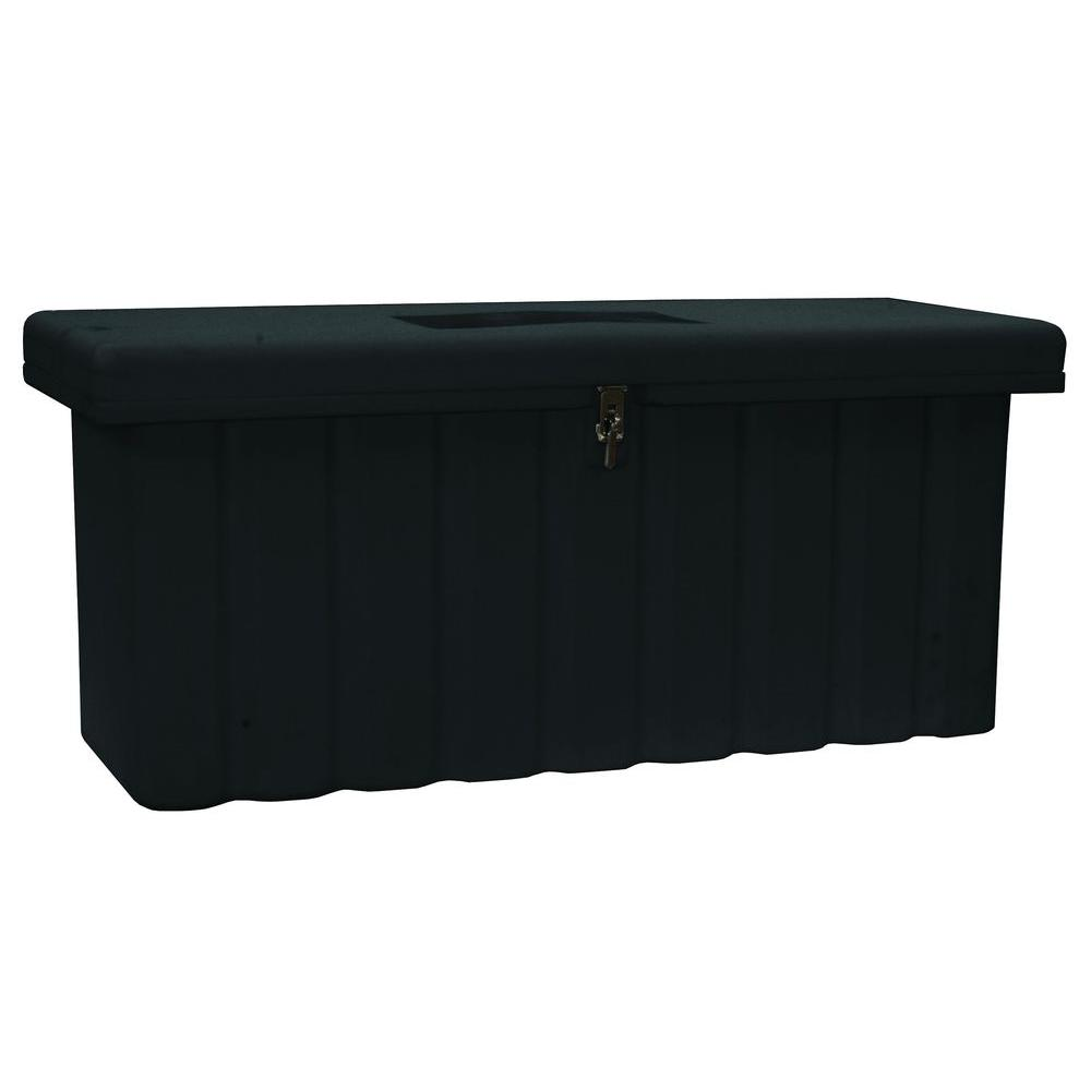 51 in. Black Polymer All Purpose Chest
