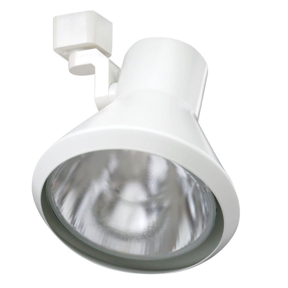 Trac-Lites White Flared-Step Light