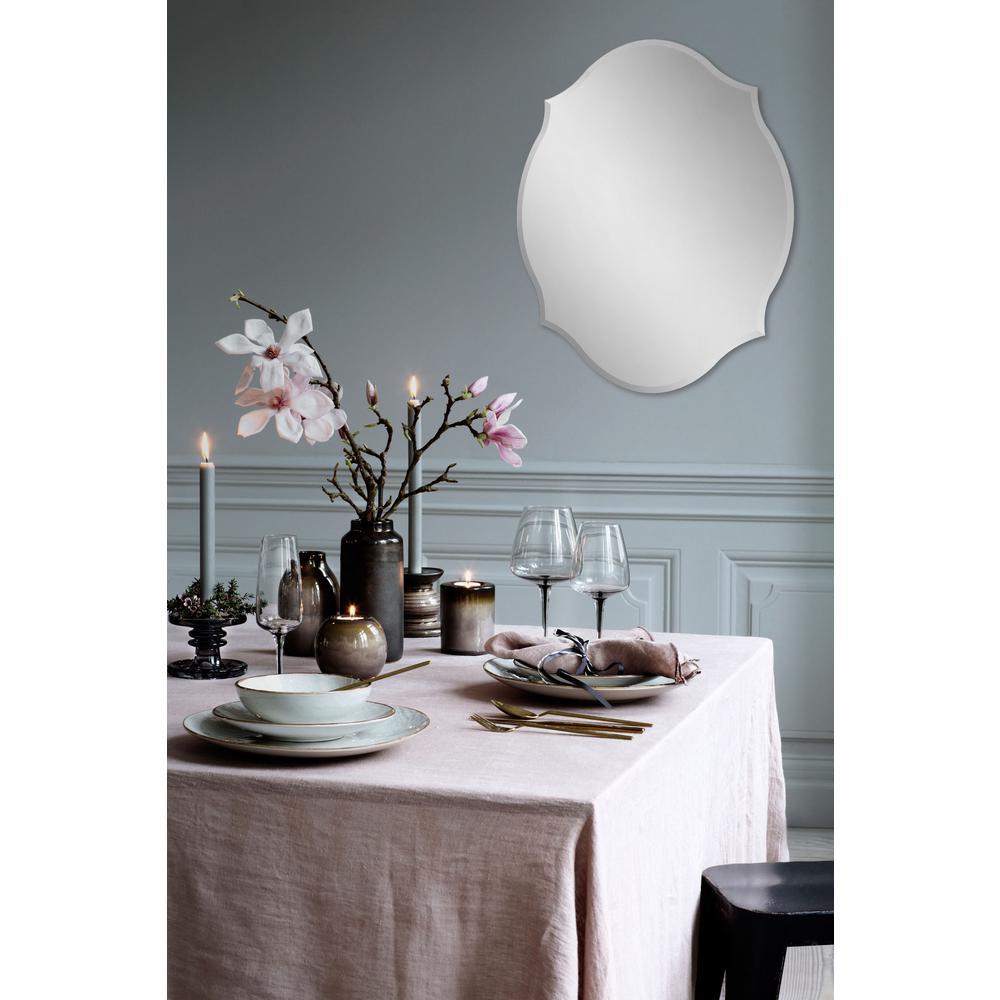 Renwil 28 In X 22 In Marietta Unframed Wall Mirror Mt11702 The